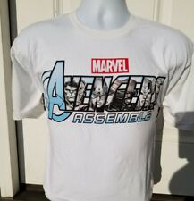 Marvel Avengers Assemble Color Changing Del Sol Size Large T-shirt