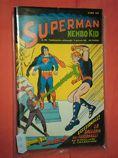 ALBI DEL FALCO NEMBO KID SUPERMAN N°559 MONDADORI-CONTIENE GALLERIA +BATMAN 1966
