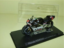 MOTO HONDA NSR500 Alex BARROS 2001 ALTAYA 1:24