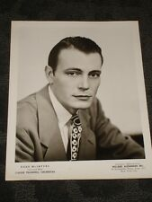 Russ McIntyre Big Band musician - B&W publicity photo late 40's early 50's