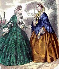 VICTORIAN LADIES 14~cross stitch chart #529~PEOPLE