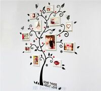 Wall Sticker Family Photo Frame Tree Wall Tattoo Art Home Room Decor Vinyl Mural