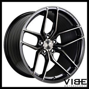 """20"""" STANCE SF03 BLACK FORGED CONCAVE WHEELS RIMS FITS FORD MUSTANG GT"""