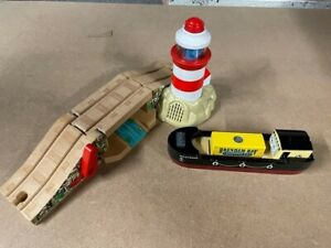 Thomas & Friends Wooden Bulstrode And Lighthouse & Sounds RARE