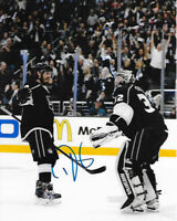 DREW DOUGHTY signed 8x10 photo LOS ANGELES KINGS