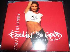Jennifer Lopez Feelin' So Good Australian 3 Track CD Single - Like New
