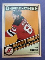 2019-20 O-Pee-Chee Marquee Rookies Retro #611 Jack Hughes New Jersey Devils RC