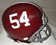 "Lee Roy Jordan Signed Alabama Mini Helmet INS ""1961 Nat Champs"" Crimson Riddell"
