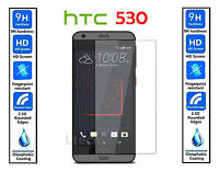 Genuine 100% TEMPERED GLASS Ultra Clear HD Screen Protector For HTC Desire 530