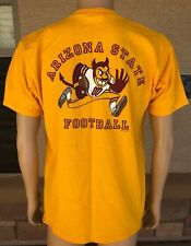 Vintage Arizona State Football Sparky Shirt Gilden HW Kactus Jock Size Large