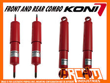 "KONI ADJUSTABLE  2"" RAISED F & R SHOCK ABSORBERS FOR NISSAN PATROL GQ GU Y60 Y61"