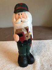 Eddie Walker Midwest Of Cannon Falls 10� Santa Claus w Train Christmas Holiday