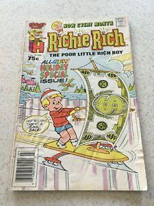 Richie Rich  224  VG/Fine  5.0  Harvey Comics  The Poor Little Rich Boy