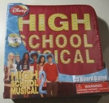 High School Musical 2 CD Board Game Brand New And Sealed