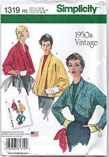 From UK Sewing Pattern Coat Jacket  Bolero 14-22 US #1319