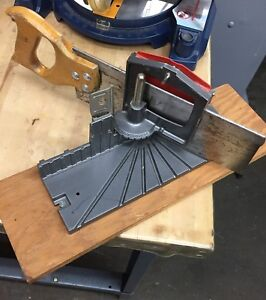 Stanley Mitering Attachment for Hand Saw, Model H114A
