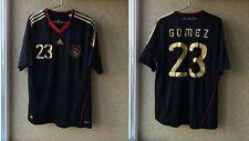 Germany Away football shirt 2010/2011 Jersey Adidas Soccer # 23 Mario Gomez
