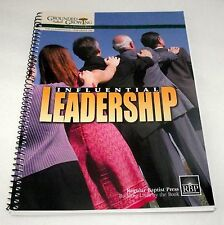 Leadership Bible Lessons Adult Teacher Influential Grounded Growing Baptist RBP