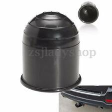 50mm Black Plastic Tow Bar Ball Cover Cap Car Auto Towing Hitch Towball Protect