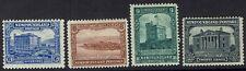 NEWFOUNDLAND 1928 PUBLICITY ISSUE 6C,8C,9C AND 20C DLR PRINTING