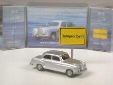 Wiking C&I Sondermodell Mercedes 220 Ponton in silbermetallic Sylt Edition 2