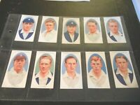 Cricketers Cricket by Churchman 1936  RARE! card set complete 50 cards NICE LOT