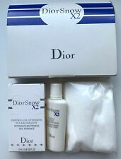 Dior Set DiorSnow X2 Essence-Gel intensive 2 ml & Lotion Ultra &disposable wipes