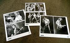 QUEEN Original 3 x FLASH GORDON Press Kit 8x10 Promo Photos ONLY FREDDIE MERCURY