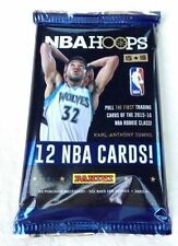 2015-16 NBA Hoops HOBBY Pack Karl-Anthony Towns Jahlil Okafor Rookie RC Auto?