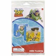 Inflatable Arm Bands WOODY BUZZ Toy Story Age 3+ NIP