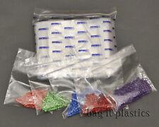 GRIP SEAL BAGS GRIPWELL PLAIN & WRITE ON PANEL RESEALABLE PLASTIC BAG FOOD SAFE