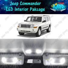 White Led Interior Lights Package Kit For 2006 2008 2009 2010 Jeep Commander