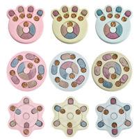 Pet Interactive Feeder Bowl Slow Dispenser Feeding Training IQ Dog Puzzle Toys ^
