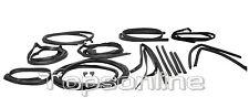 Mercedes R107 280sl 350sl 380sl 450sl 500sl 17 piece Rubber Weather Seal Kit New