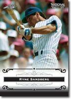 50) RYNE SANDBERG - 2012 Leaf National Convention PROMOTIONAL Baseball Card LOT