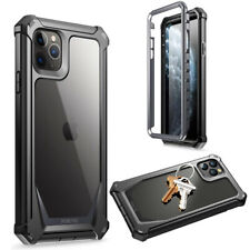 iPhone 11 Pro Max Case,Poetic Shockproof Cover [Scratch Resistant Back] Black