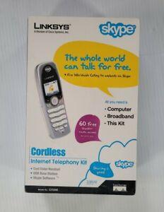 LINKSYS CIT200 Cordless DUAL-MODE Internet Telephony Kit Sealed