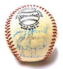 Willie McCovey Juan Marichal Dave Kingman 1973 Giants Autograph Signed Baseball