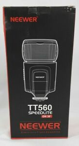 Neewer TT560 Flash Speedlite for Hot Shoe Canon Nikon Sony Camera