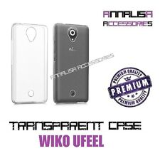 COVER TRASPARENTE PER WIKO UFEEL CUSTODIA GEL TPU SLIM TRANSPARENT CASE U FEEL
