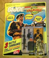 GI Joe Talking Battle Commanders Stalker Still Talks MOC New 1991