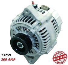 200 AMP 13759 Mazda Alternator Millenia 1997-2002 2.5 High Output Performance HD