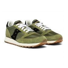 Scarpe Uomo Saucony Jazz Original Vintage Sneakers Verde Militare 41 42 43 44 45