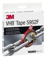 3M VHB 5952F doppelseitiges Hochleistungsklebeband, 19 mm x 3 m, schwarz 595219