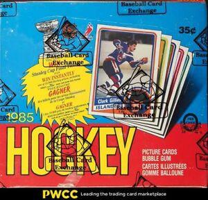 1984 O-Pee-Chee Hockey 36ct Wax Box, BBCE