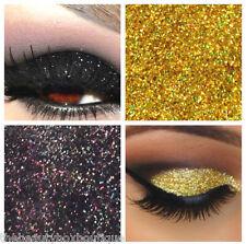 Glitter Eyes - Duo Black & Gold Holographic Eye Shadow Fixing gel Long Lasting