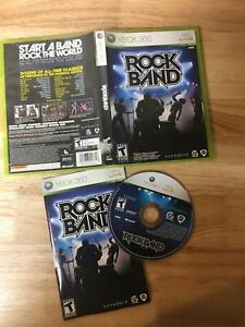 RockBand Xbox 360 Complete In Box Game Only