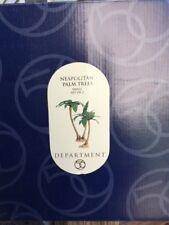 Dept 56 Neapolitan Palm Trees Small Set Of 3 Nib