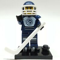 """LEGO Collectible Minifigure #8804 Series 4 """"HOCKEY PLAYER"""" (Complete)"""