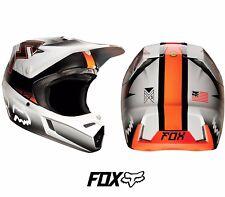 Fox V3 casco de la franquicia Motocross MX-Naranja Enduro MTB BMX MIPS